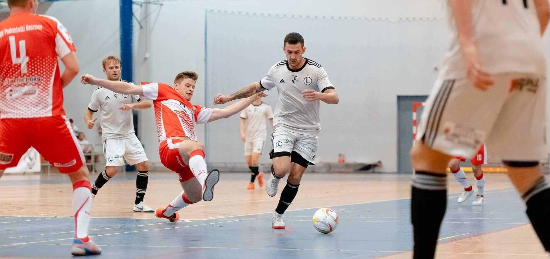 Futsal: Wysoka wygrana lidera z Warszawy
