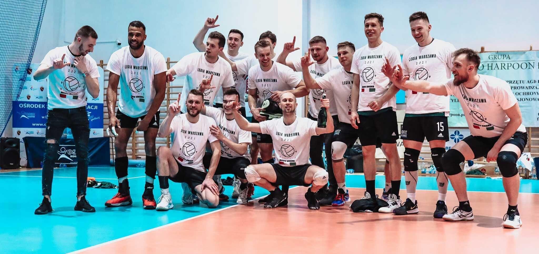 Siatkówka: Legioniści wywalczyli awans do I ligi!