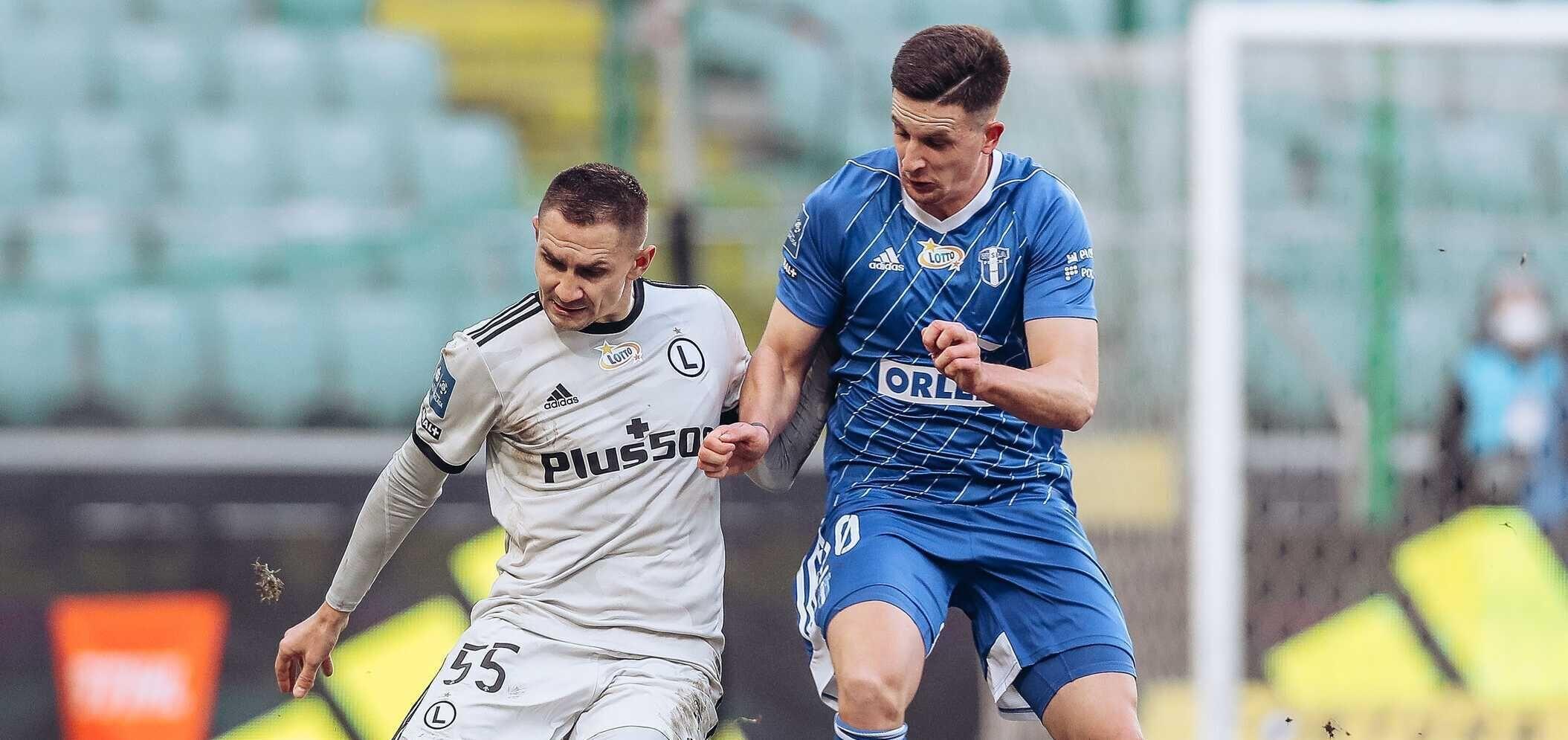 Damian Kos sędzią meczu Legia Warszawa - Wisła Płock