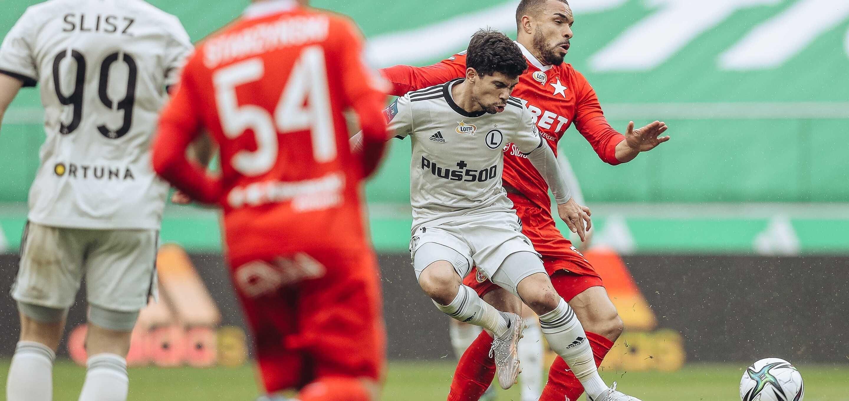 Bez goli przy Łazienkowskiej. Legia - Wisła Kraków 0:0