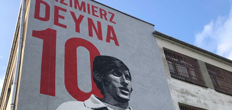 Mural Deyny na warszawskiej Ochocie