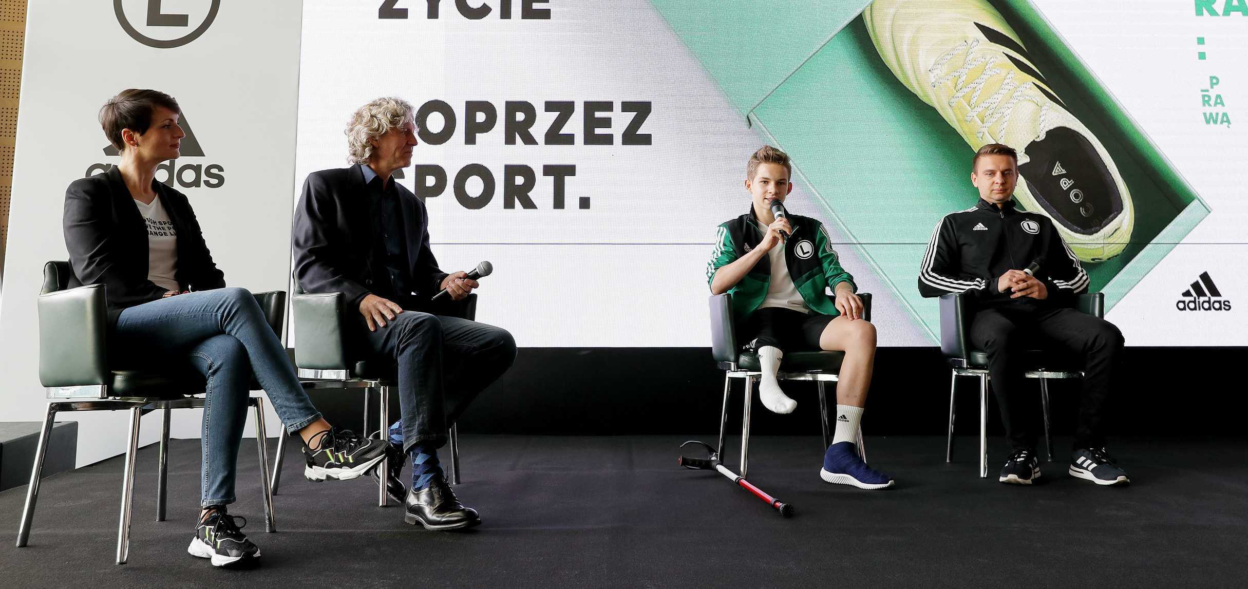 Powstała młodzieżowa sekcja Amp Futbolu Legii z adidasem!