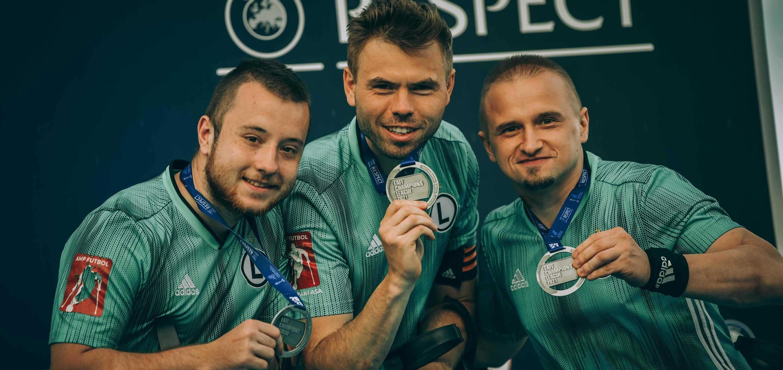 Legia AMP Futbol: Srebrni legioniści w EAFF Lidze Mistrzów na zdjęciach [GALERIA]