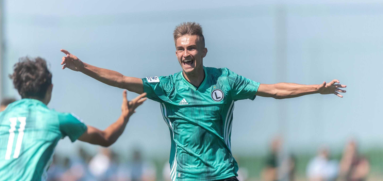 Legia U18: Wiktor Kamiński - bramkarz, który stał się napastnikiem