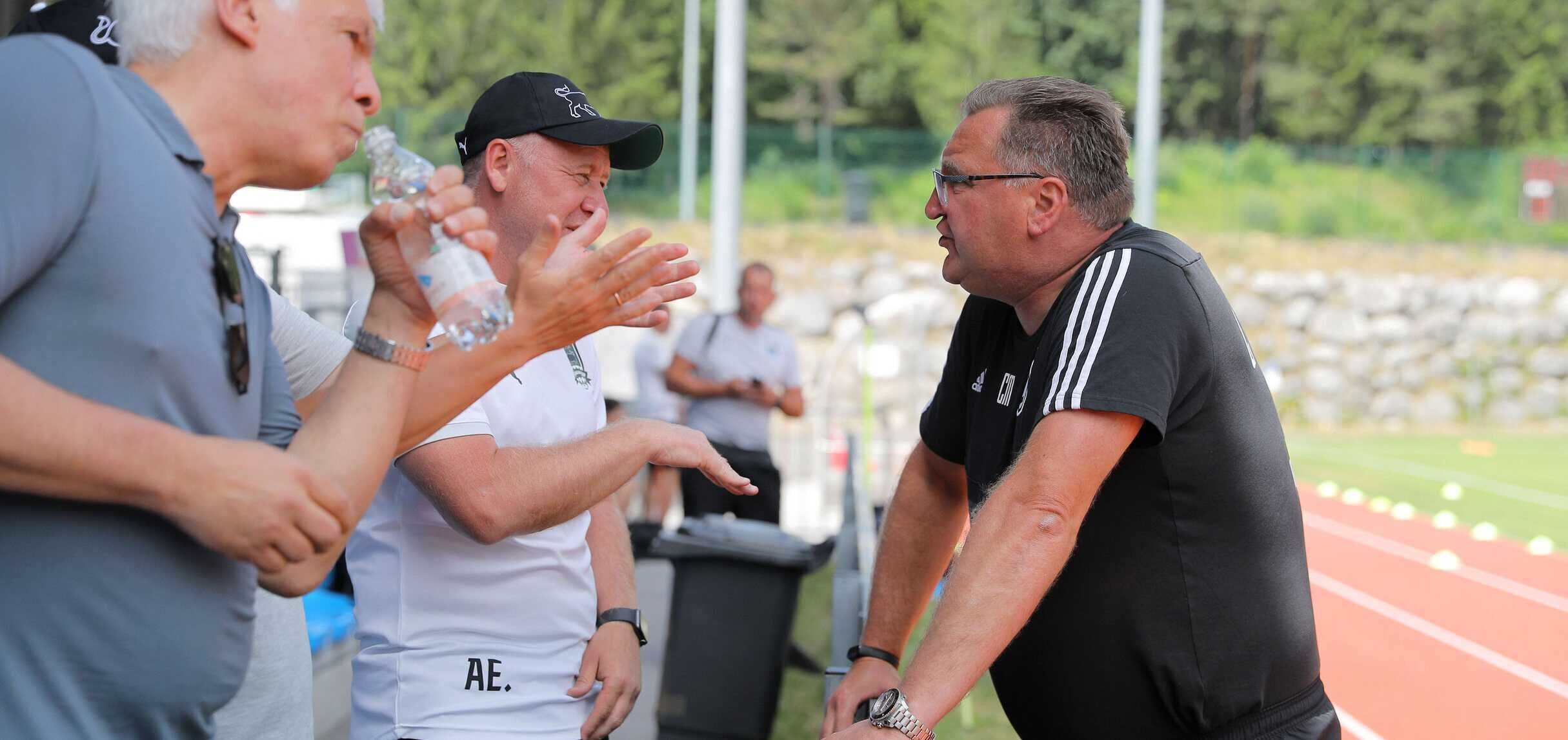 Trener Michniewicz po meczu z Krasnodarem: Widzę dużo pozytywów