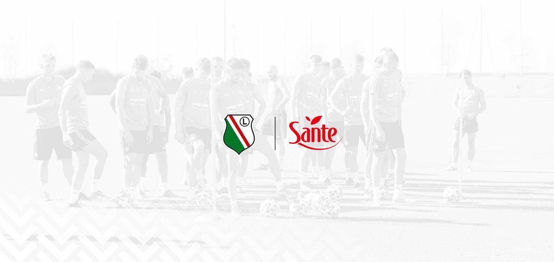Sante - oficjalny partner zgrupowania Legii Warszawa w Dubaju 2021