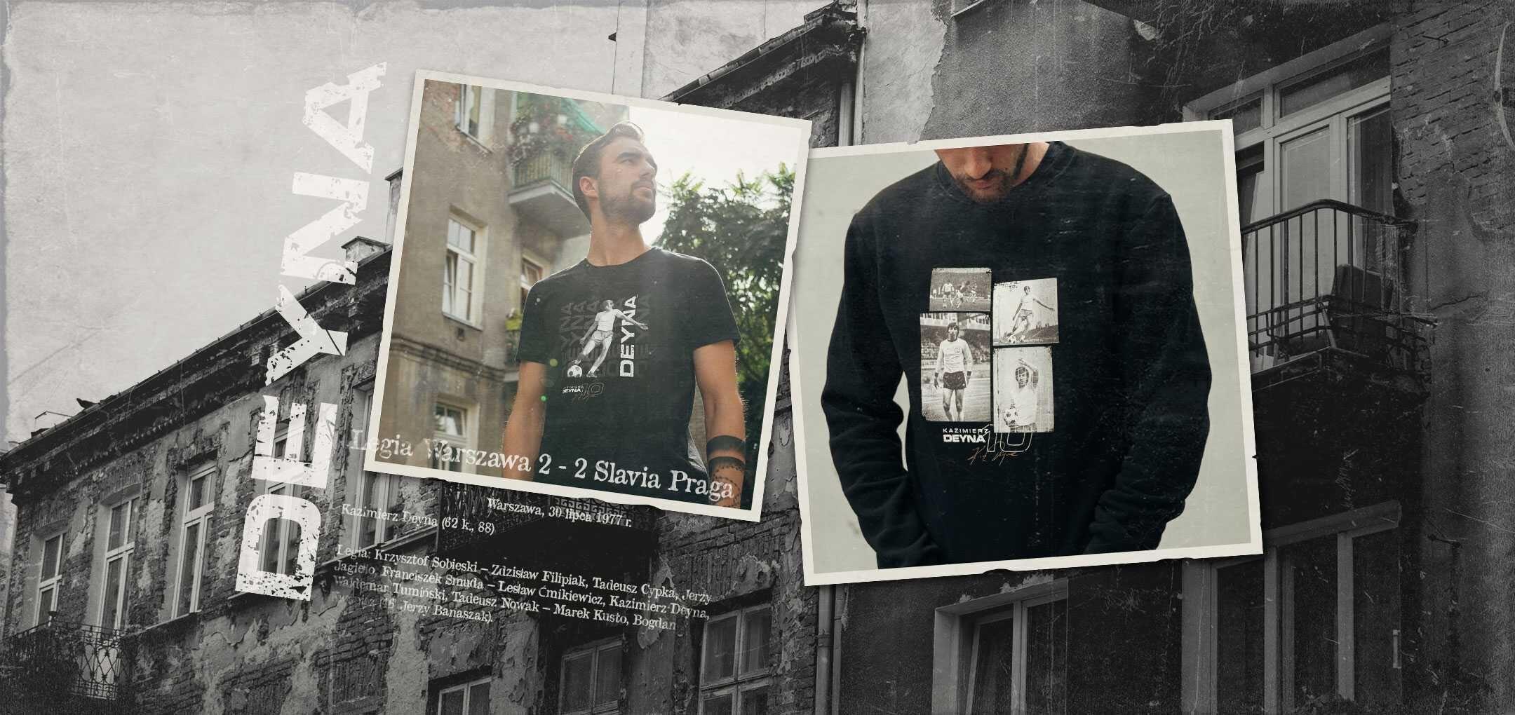 Produkty z wizerunkiem Kazimierza Deyny w Legia FanStore!