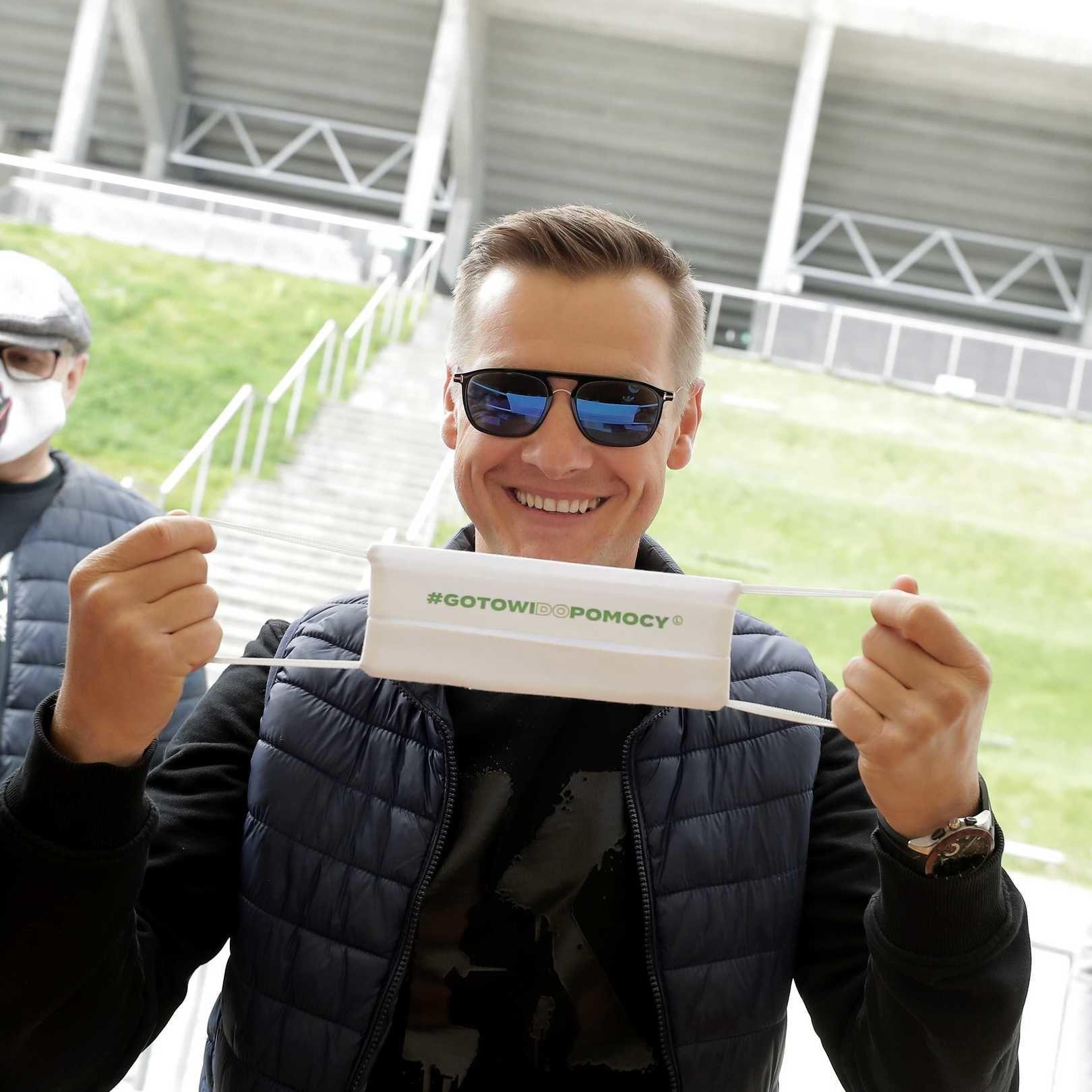 G jak... #GOTOWIDOPOMOCY! Marcin Mroczek w nowej roli
