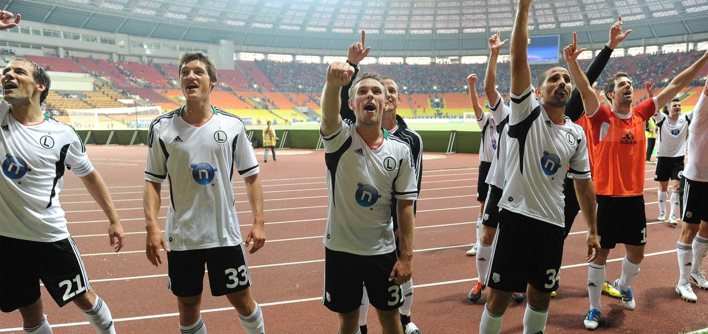 Liga Europy UEFA: Spartak Moskwa - Legia Warszawa historycznie. Zwycięska batalia sprzed dekady [WIDEO]