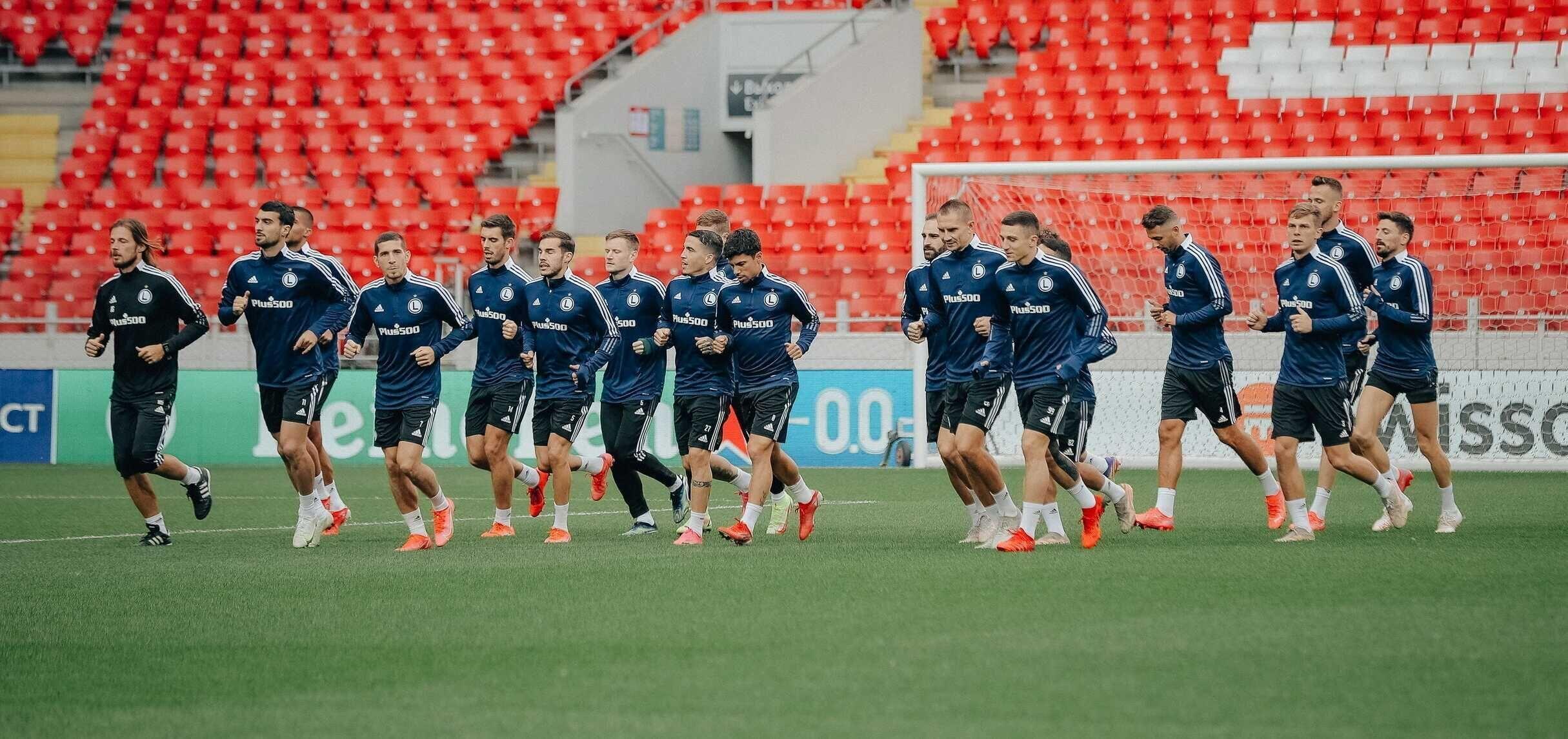 Final Countdown! Oficjalny trening przed meczem ze Spartakiem
