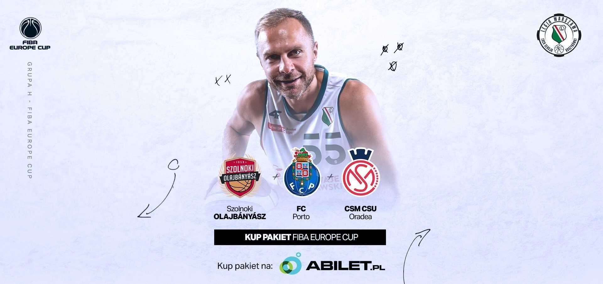Koszykówka: Kup pakiet na mecze Legii w europejskich pucharach!