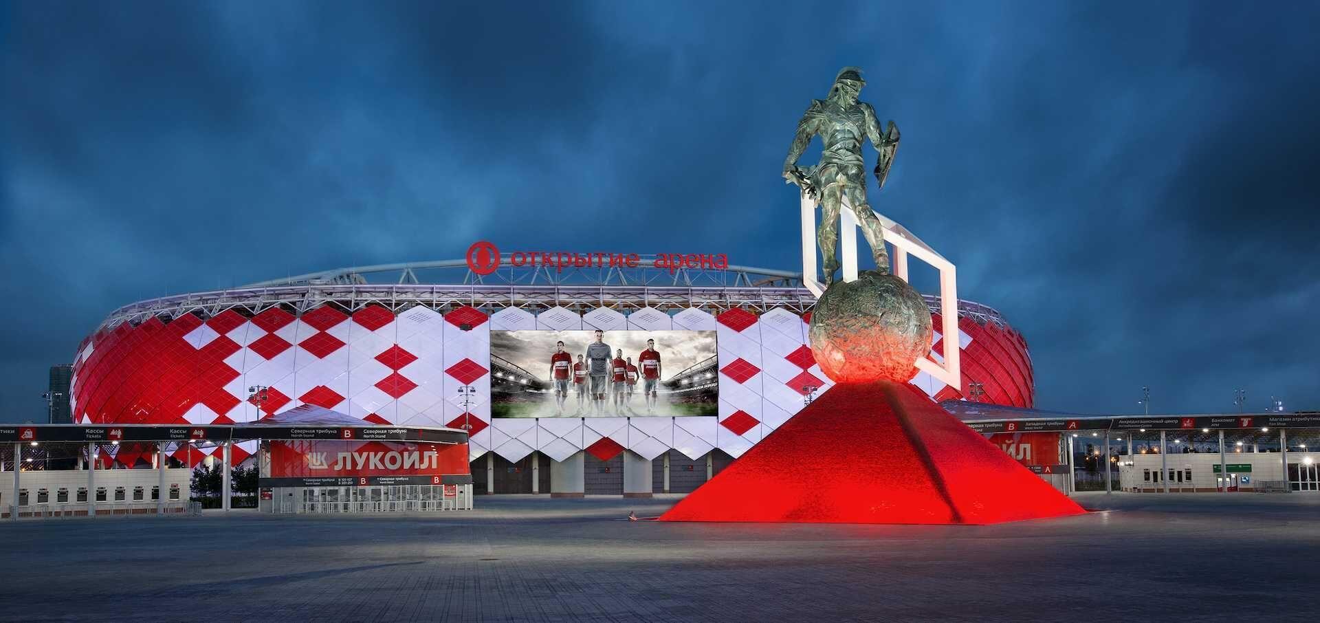 Transmisja meczu Spartak Moskwa - Legia Warszawa w Viaplay
