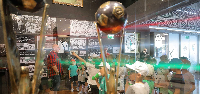 Ruszyły obozy Legia Soccer Schools przy Łazienkowskiej 3!