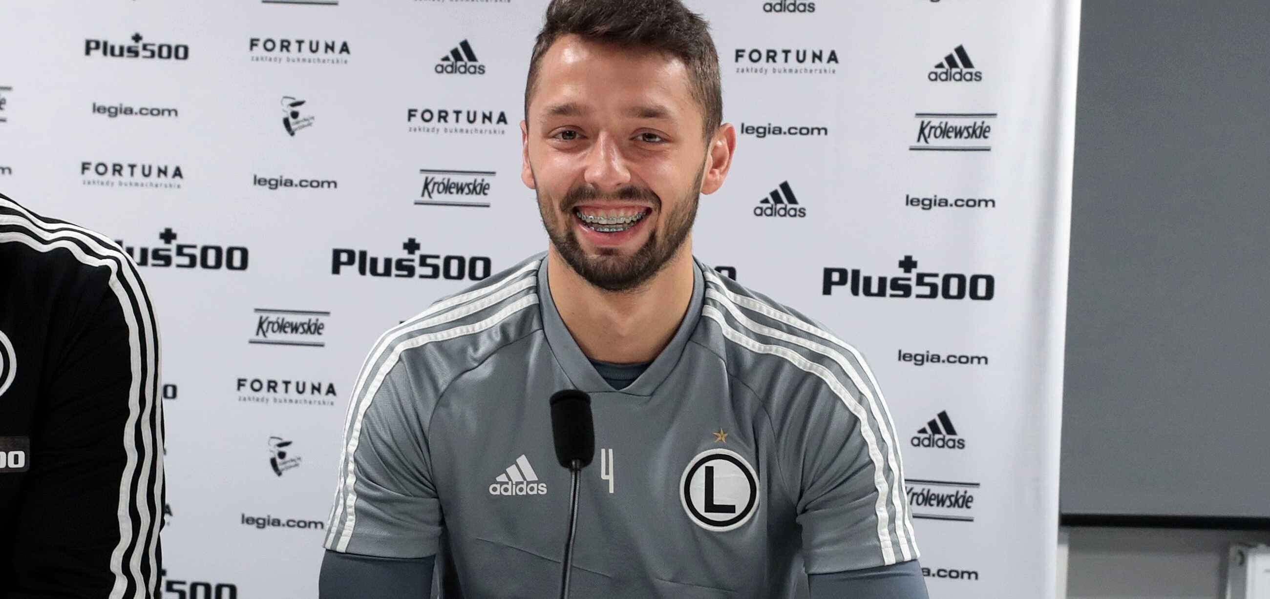 Mateusz Wieteska: Najważniejsze dla mnie są słowa trenera