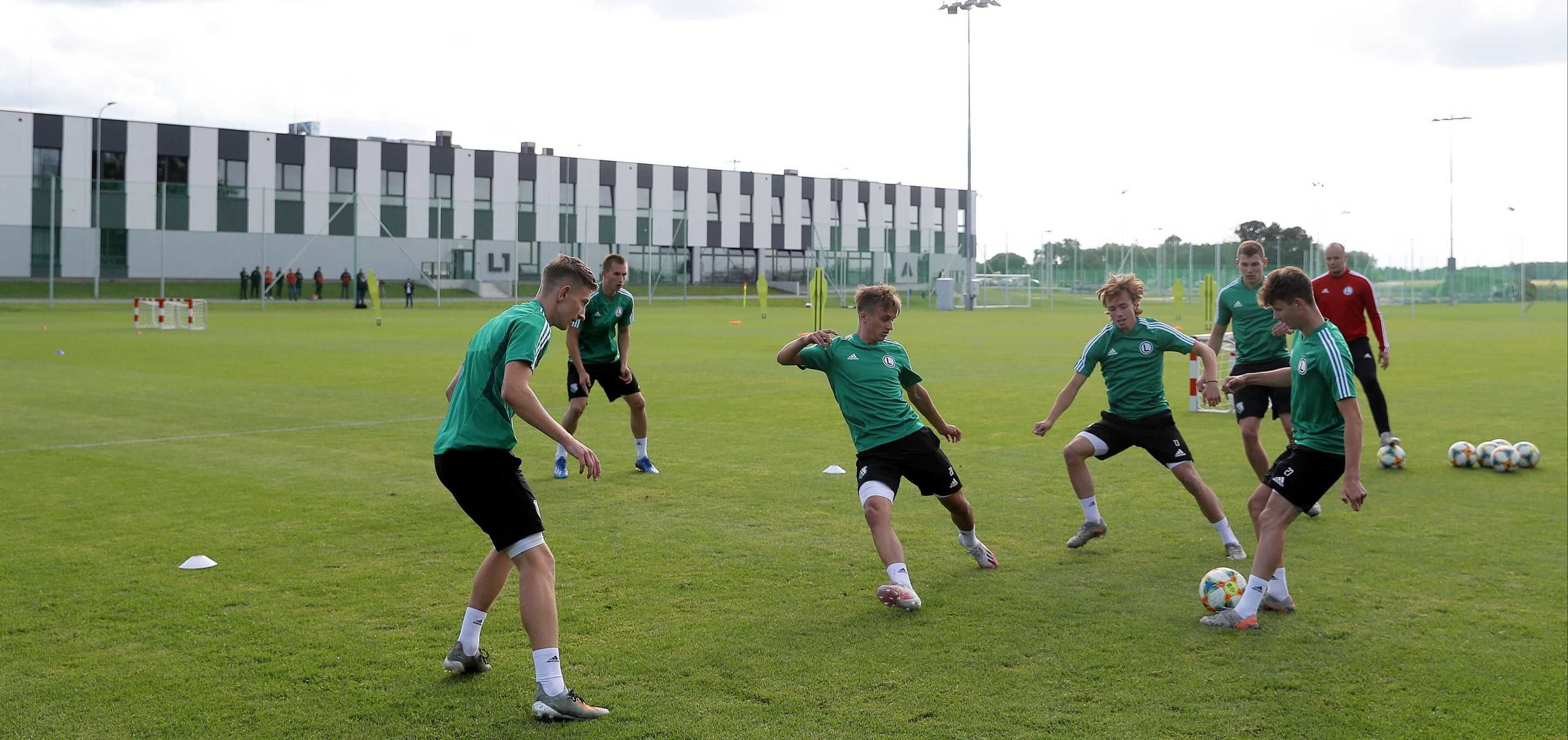 Pierwszy trening w Legia Training Center za nami!