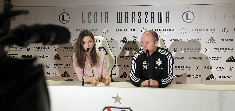 Vuković: Chcemy grać intensywną piłkę [Wideo]