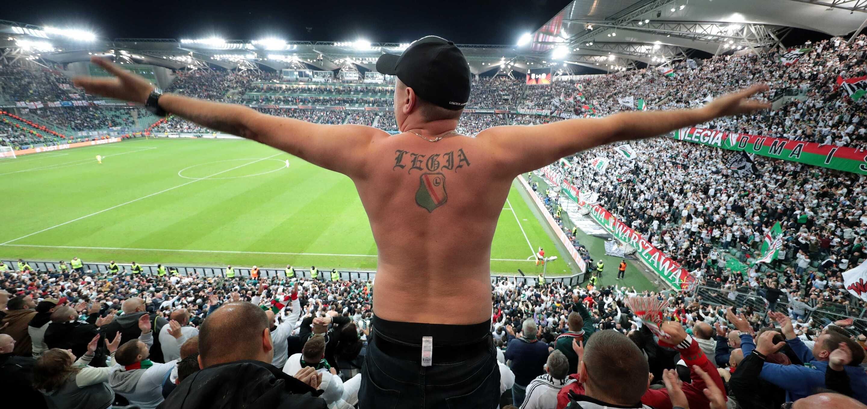 Galeria kibiców z meczu Legia - Leicester autorstwa Janusza Partyki. SZUKAJCIE SIĘ NA ZDJĘCIACH!