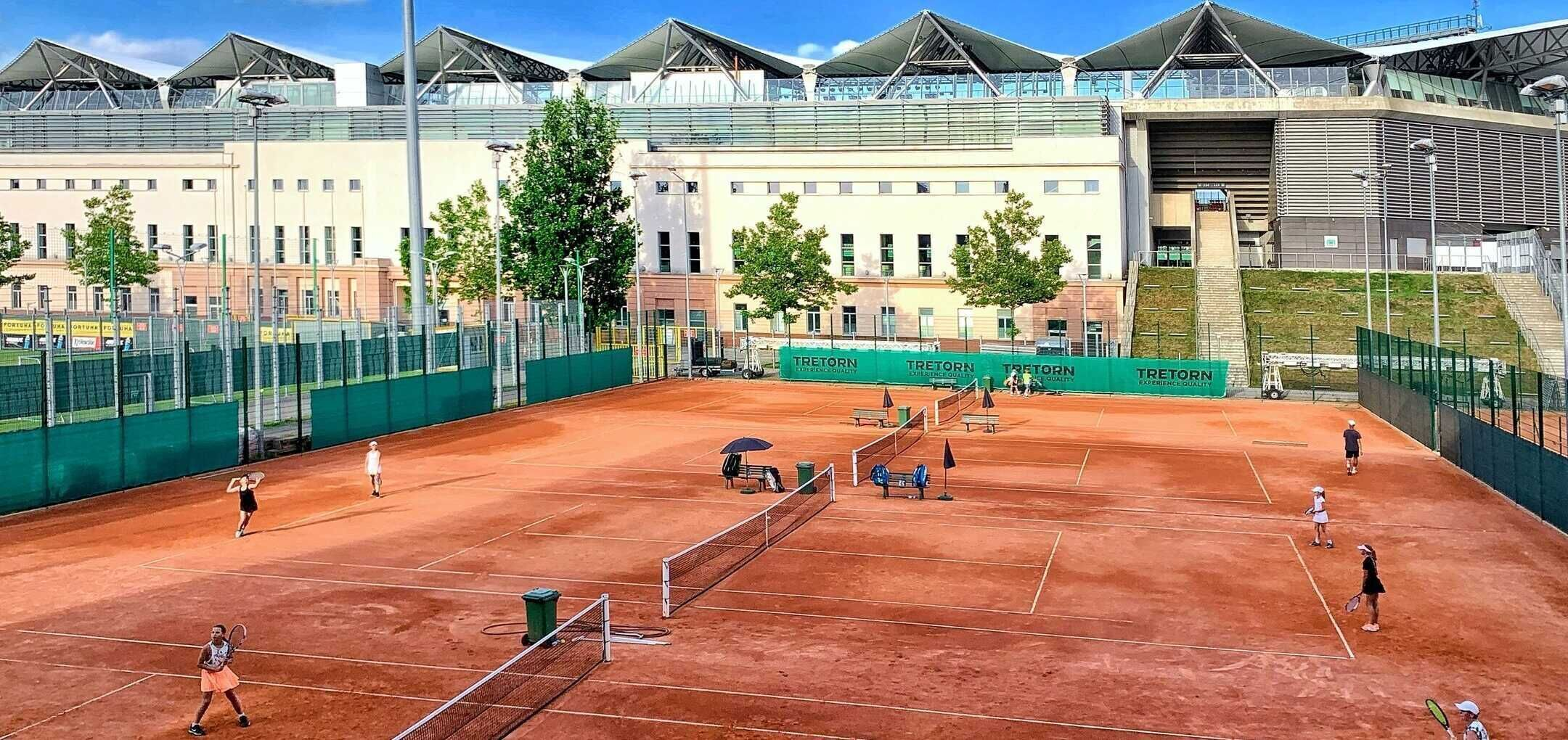Turniej BNP Paribas Polish Cup na obiektach Legia Tenis & Golf