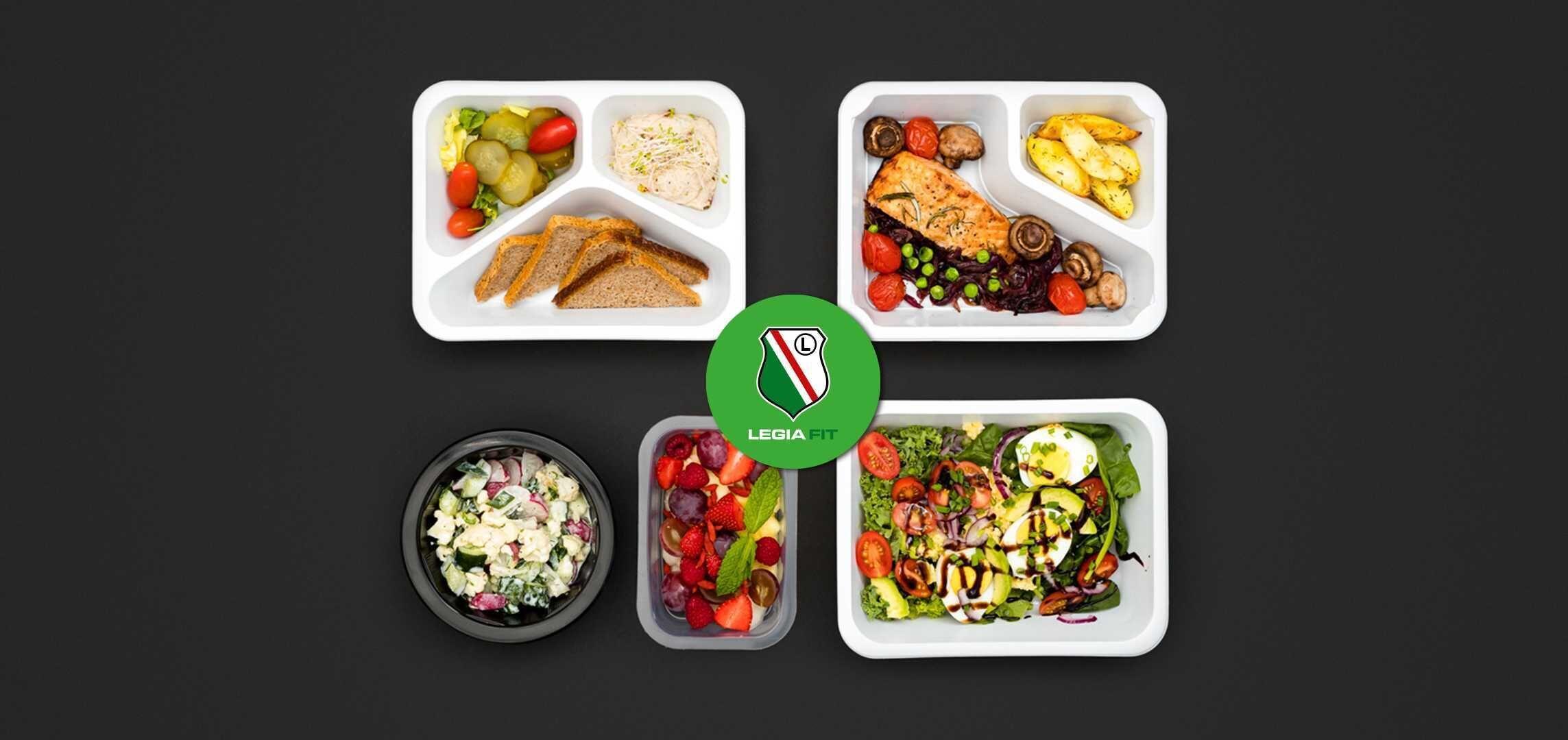 Legia Fit – dieta pudełkowa