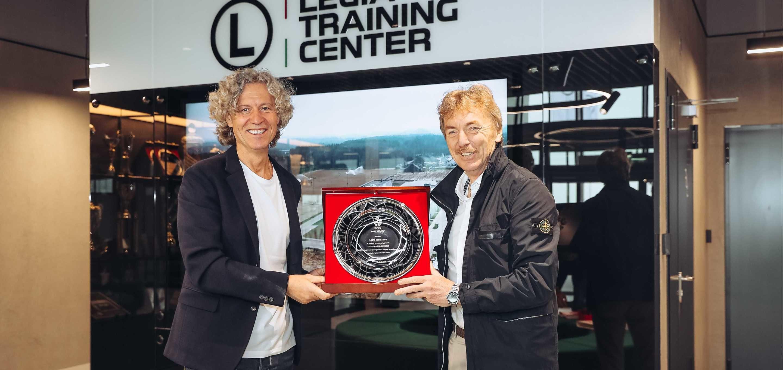 Prezes Zbigniew Boniek odwiedził Legia Training Center