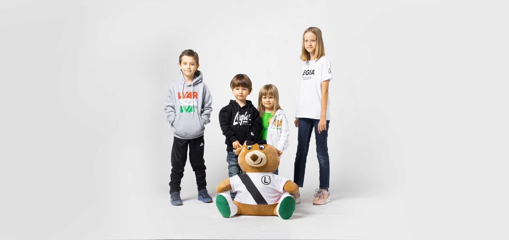 Nowe ubrania dziecięce w Legia FanStore!