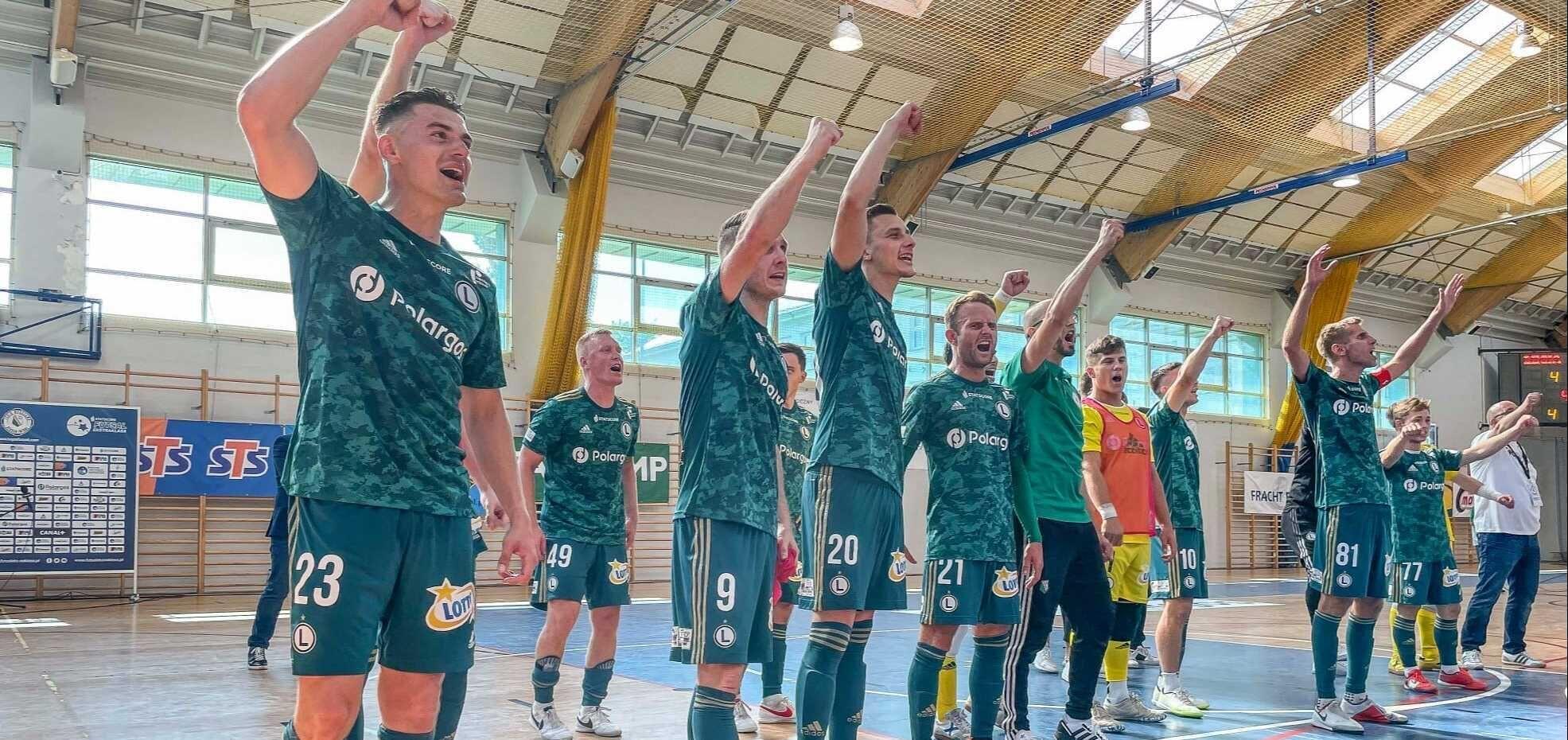 Futsal: Mistrzowie Polski lepsi od legionistów