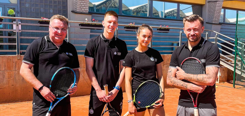 Gem, set i mecz! Trener Michniewicz i Czarek Miszta zmierzyli się na korcie Legia Tenis & Golf